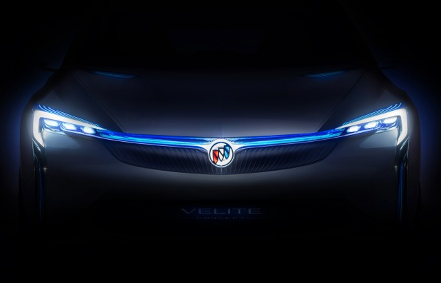 Teaser for Buick Velite concept debuting at 2016 Guangzhou auto show