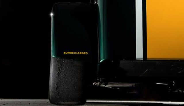 Teaser for Caterham's new supercharged track car