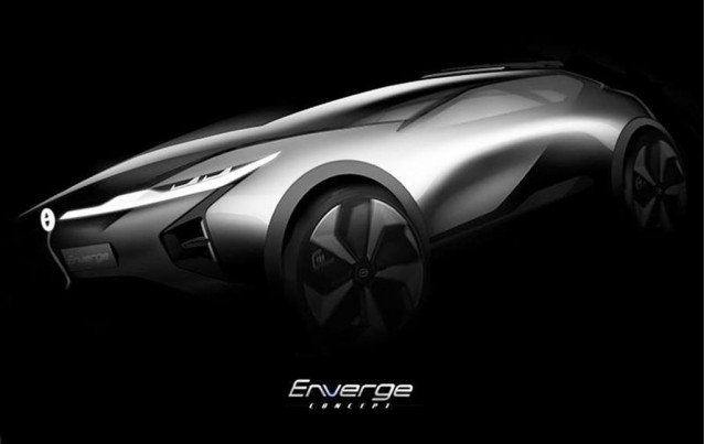 Teaser for Enverge concept debuting at 2018 North American International Auto Show