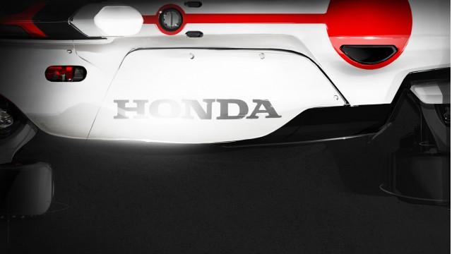 Teaser for Honda Project 2 & 4 concept debuting at 2015 Frankfurt Auto Show