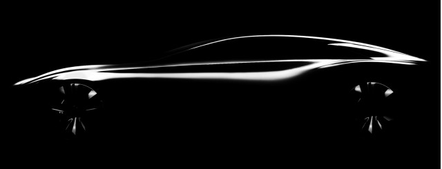 Teaser for Infiniti Q80 Inspiration concept