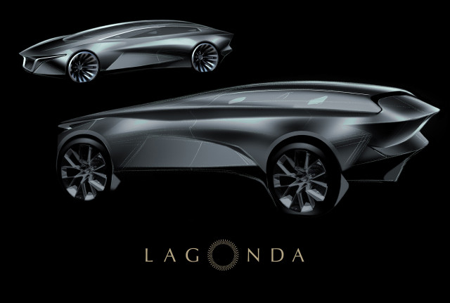 Teaser for Lagonda SUV debuting in 2021