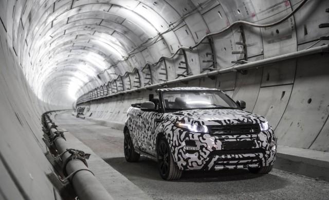 Teaser for Land Rover Range Rover Evoque Convertible
