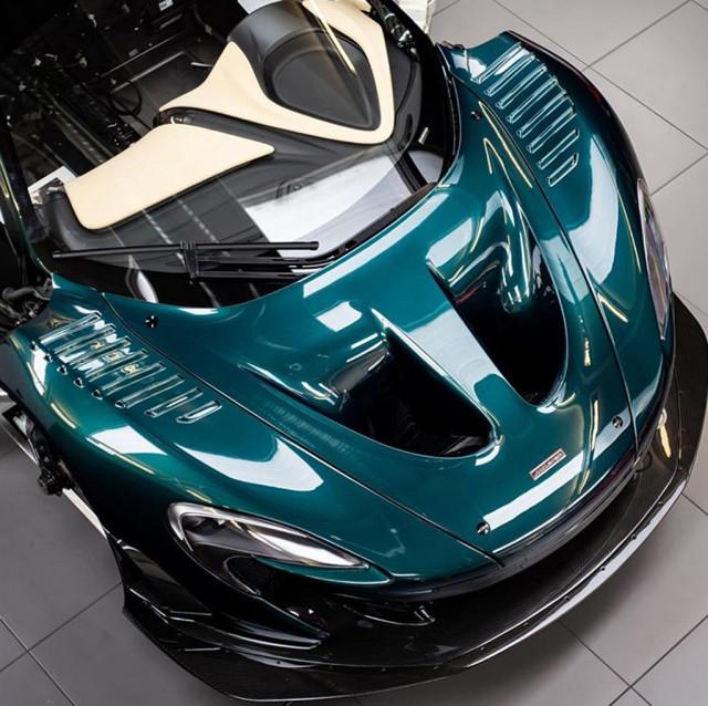 Teaser for Lanzante's McLaren P1 GT Longtail