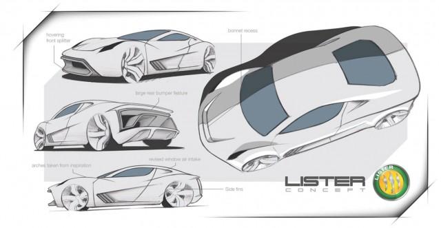Teaser for Lister 'Hypercar'