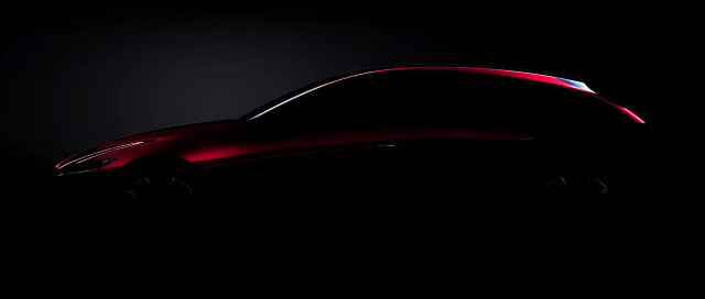 Teaser for Mazda technology concept debuting at 2017 Tokyo Motor Show