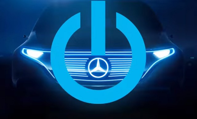 Teaser for Mercedes-Benz electric car concept debuting at 2016 Paris auto show