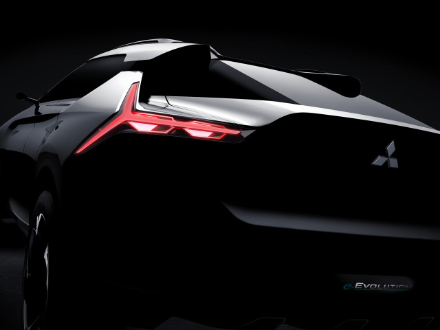 Mitsubishi e-Evolution Concept Teased Ahead Of Debut