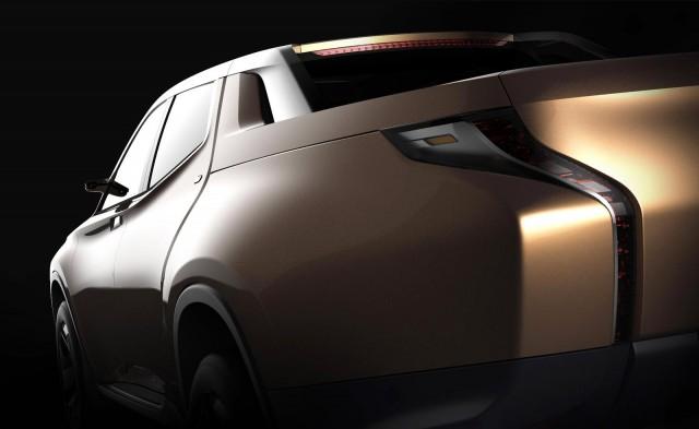Teaser for Mitsubishi GR-HEV concept