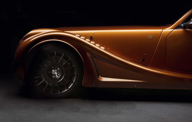 Teaser for Morgan Aero GT debuting at 2018 Geneva motor show