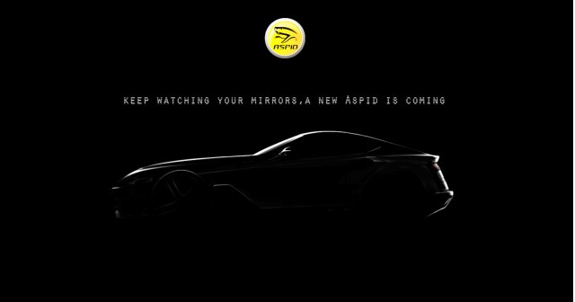 Teaser for new Aspid sports car