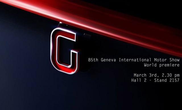 Teaser for new Italdesign Giugiaro concept debuting at 2015 Geneva Motor Show