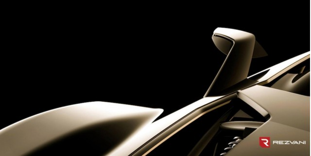 Teaser for Rezvani's Beast supercar