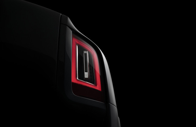 Teaser for Rolls-Royce Cullinan debuting on May 10, 2018