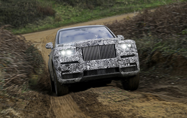 Teaser for Rolls-Royce Cullinan
