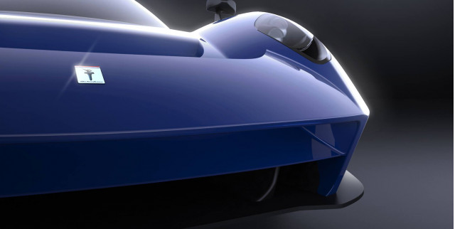 Teaser for Scuderia Cameron Glickenhaus' second car