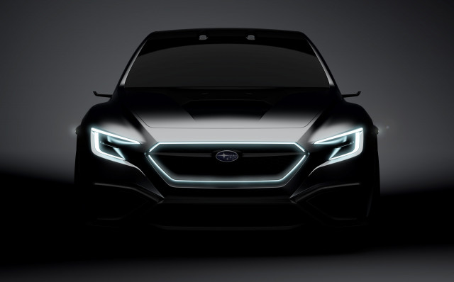 Teaser for Subaru Viziv Performance Concept debuting at 2017 Tokyo Motor Show