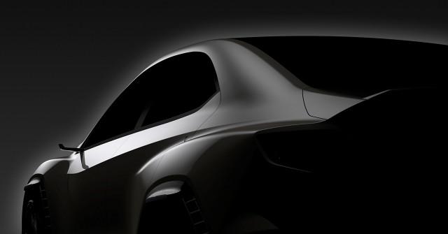 Teaser for Subaru Viziv Performance Concept debuting at 2017 Tokyo Motor Show