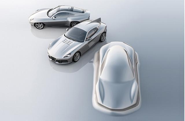 Teaser for Touring Superleggera's first mid-engine car