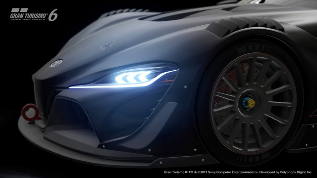 Teaser for Toyota FT-1 Vision Gran Turismo concept