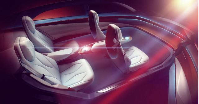 Volkswagen ID Vizzion concept teased