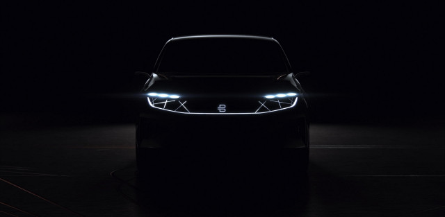 Teaser Image Of Byton Electric Suv To Be Launched At Ces 2018 Las Vegas