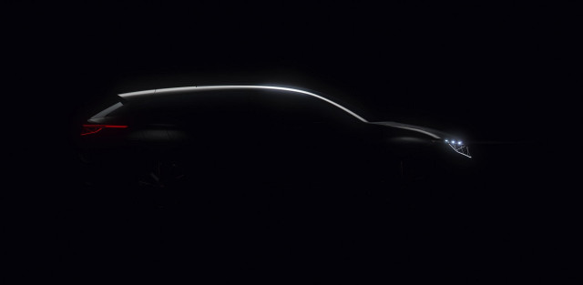 Teaser image of Byton electric SUV to be launched at CES 2018, Las Vegas