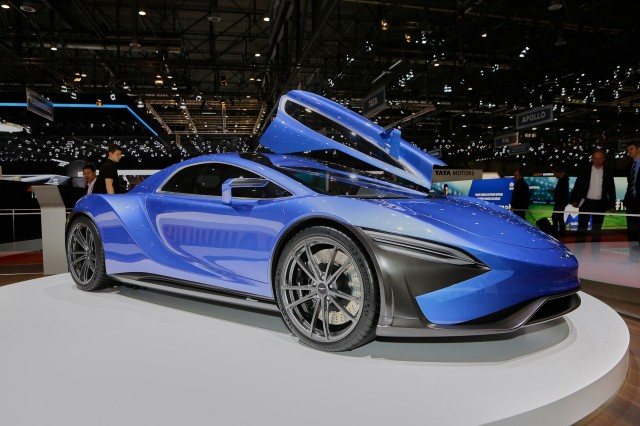 2016 Techrules At96 Trev Supercar Concept: Supercars Stampede Toward Hybrids, Electric Power: Geneva