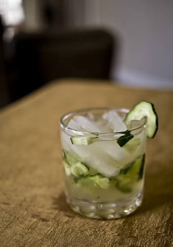 Tequila-Cucumber Highball, by Flickr user Mirabila