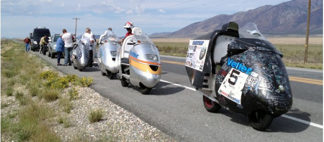 2014 Vetter Challenge for motorcycle with lowest energy cost