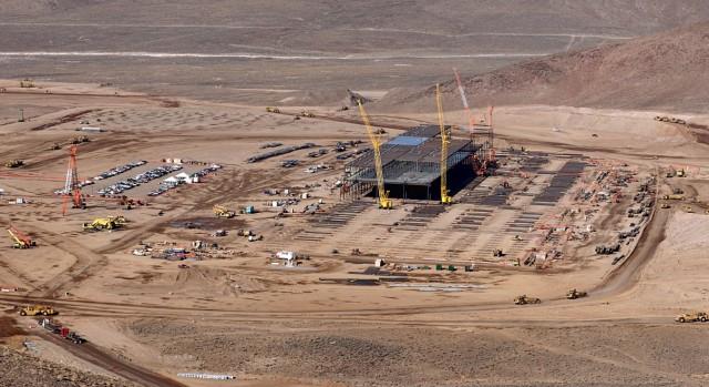 Tesla battery gigafactory site, outside Reno, Nevada, Jan 6, 2015  [photo: Bob Tregilus]
