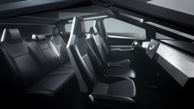 Tesla Cybertruck prototype - Nov. 2019