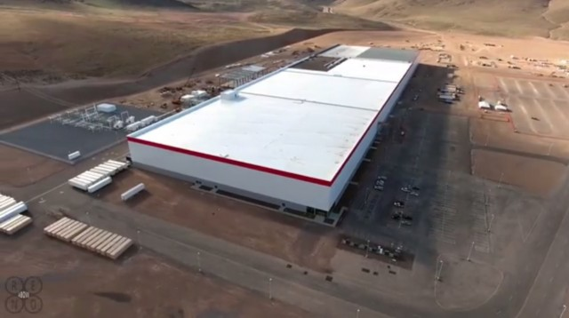 Tesla Gigafactory March 2016 Shown In Drone Footage Posted To You By Above Reno