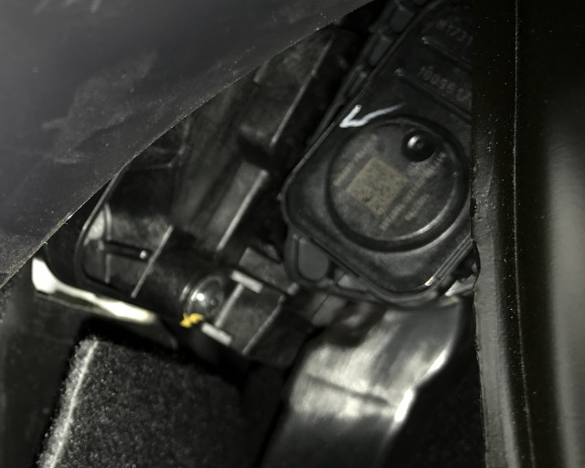 Tesla Model 3 accelerator pedal
