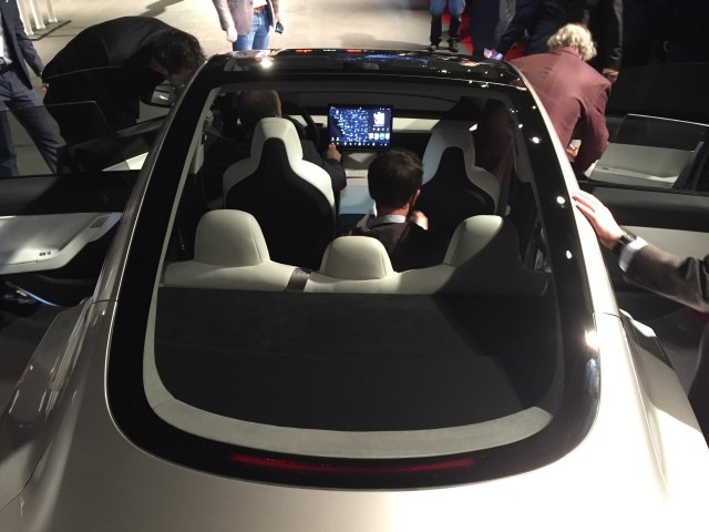 Tesla Model 3 Design Prototype Reveal Event March 2016