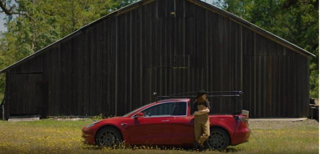 Tesla Model 3 pickup truck 'Truckla'