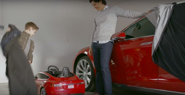 tesla model s radio flyer  ludicrous mode for junior