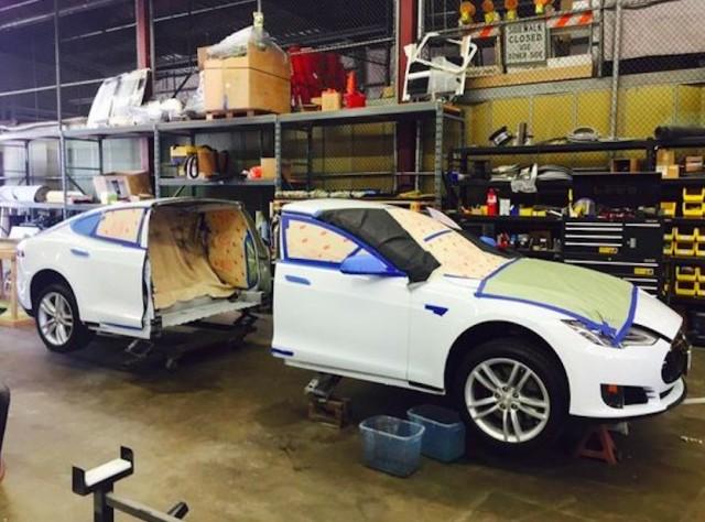 tesla model s better electric stretch limo than nissan leaf