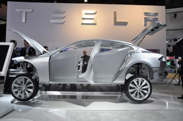 Tesla Model S Alpha build