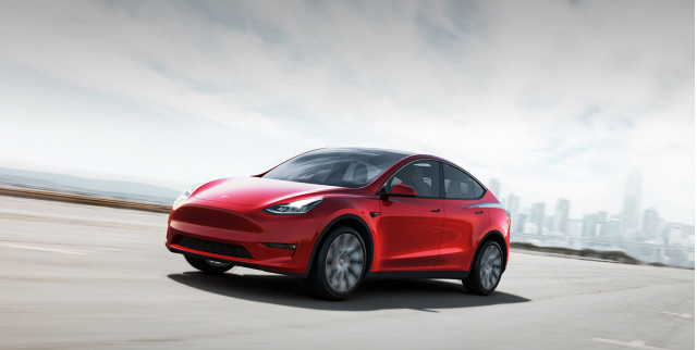 2020 Tesla Model Y: $48,200 electric crossover SUV debuts