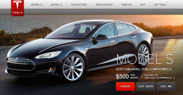 Used tesla financing