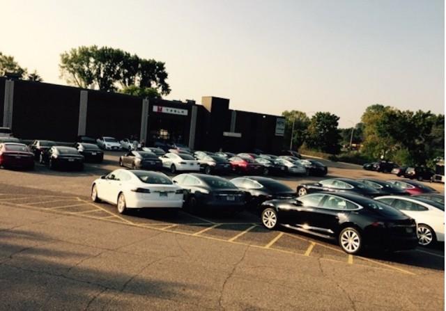 Tesla motors eden prairie