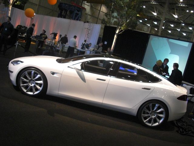 Tesla Model S launch