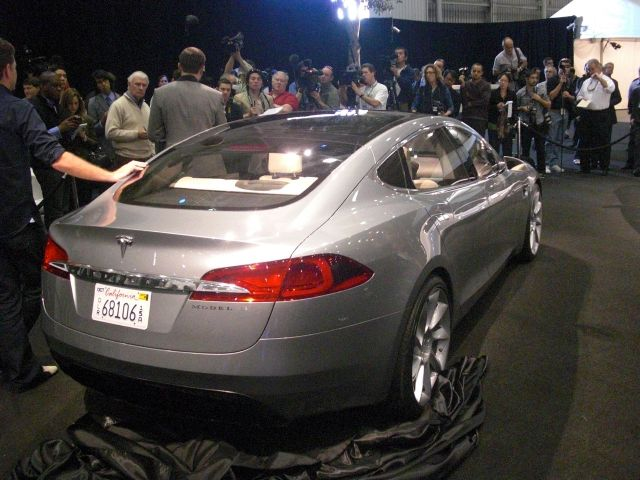 2017 Tesla Model S Prototype