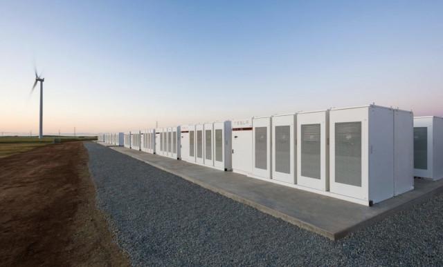Tesla South Australia Lithium Ion Battery Storage