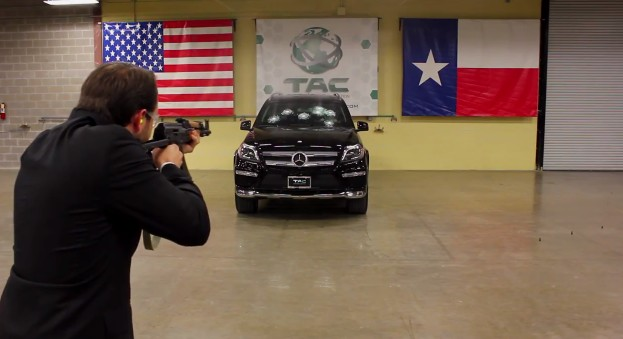 Texas Armored Car Company Literally Stands Behind Its Product: Video