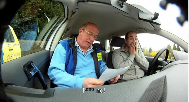 Texting and driving campaign from Responsible Young Drivers (Belgium)