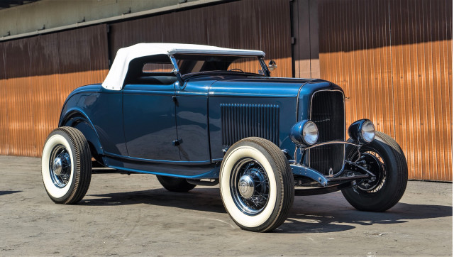 The 1932 Ford 'Pete Henderson' Roadster has a notable history