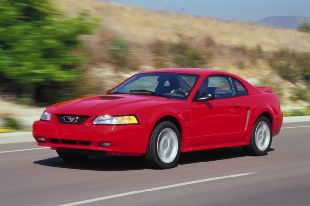 The 2000 Ford Mustang GT.