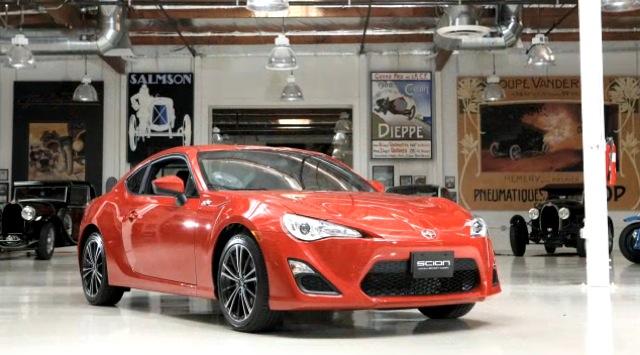 The 2013 Scion FR-S visits Jay Leno's Garage